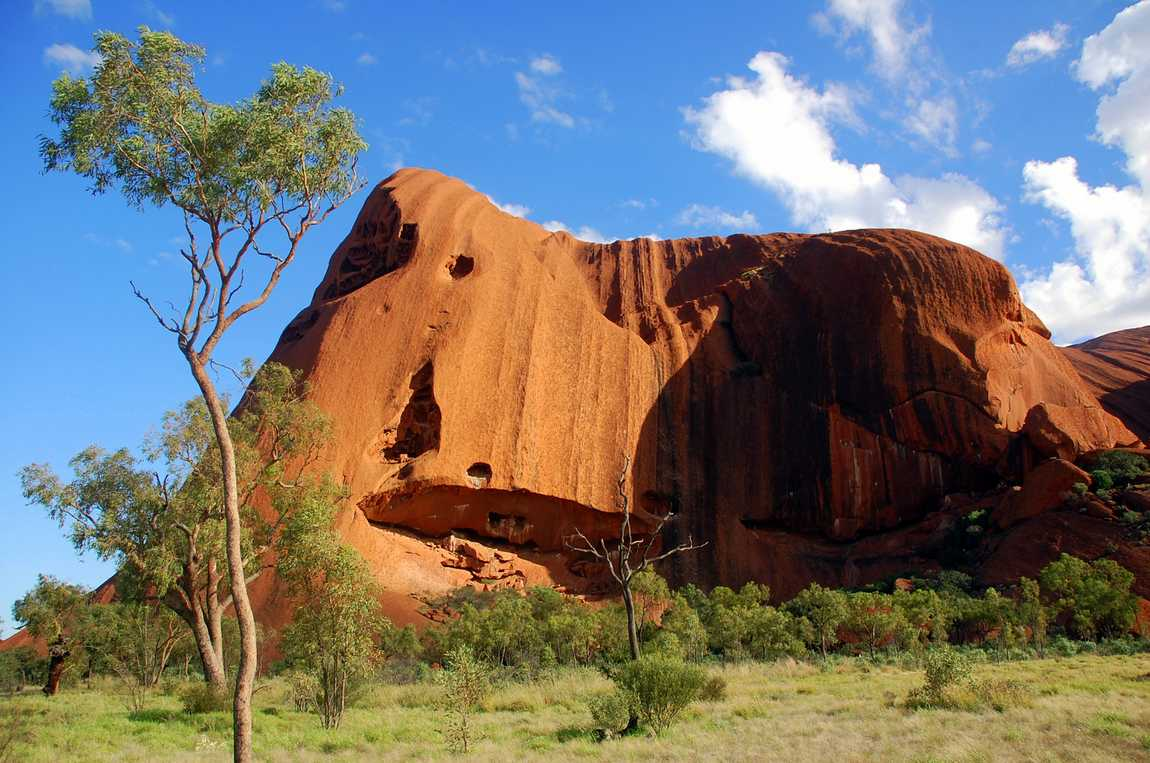 Uluru walking trail